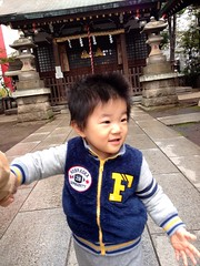 朝散歩 (2012/11/9)