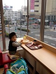 ケンタで朝御飯 - 朝散歩 (2012/11/11)