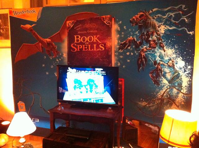 Soirée de lancement Wonderbook : Book of Spells - 2