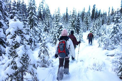Snowshoeing Rummel Lake-10