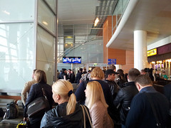 Terminal D de l'Aéroport de Moscou-Sheremetyevo, salle d'embarquement