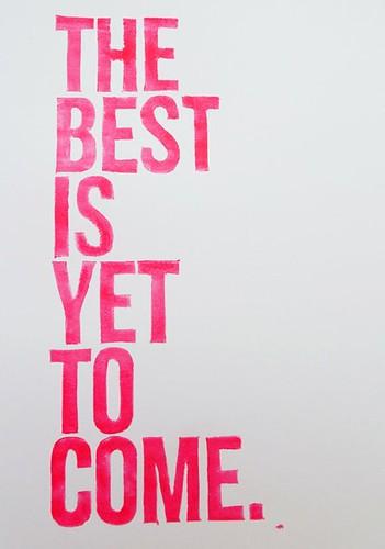 optimism, hope message