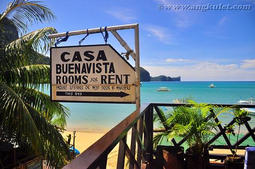 Casa Buenavista, El Nido, Palawan