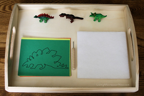 Dinosaur Punching Activity