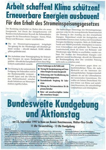 Demo 1997 Bonn