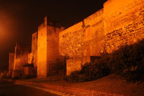 Alcazaba walls