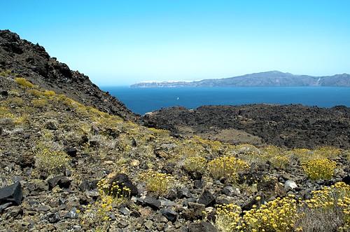 Palea Kameni, dormant volcano