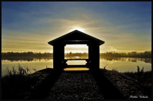 autumn lake water pond birdlake vesi syksy usva sumu ylöjärvi kuura birdwatchingplace siivikkala