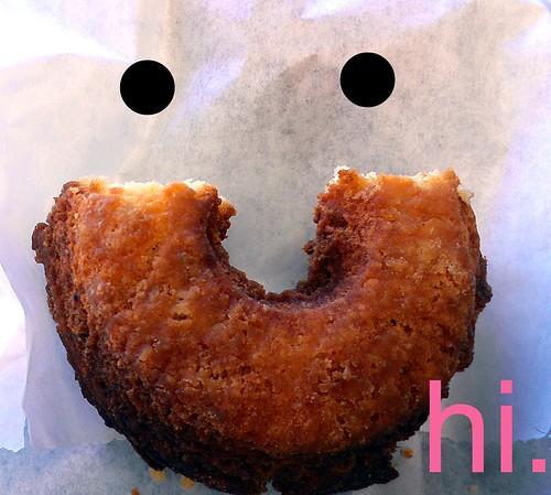 Vanilla Cake Donut, Whoos Donuts