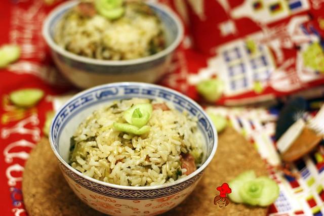 上海菜飯 Shanhai veggi rice 11