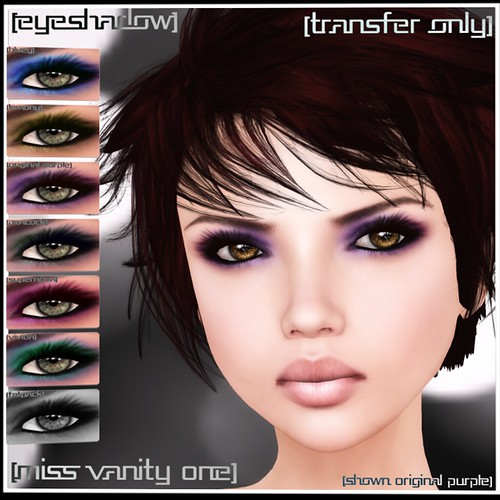 Miss-Vanity-One Eyeshadow [mock] cosmetics by Mocksoup