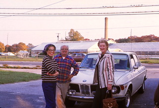 New York   -   Bayport   -   My mother, Marsha & Tony Frigenti   -  October 1975