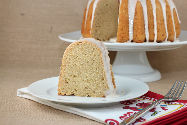 Vanilla Bean Malt Bundt Cake - Baked Elements