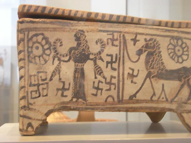 PYXIS (BOX), GREEK LATE GEOMETRIC PERIOD-2