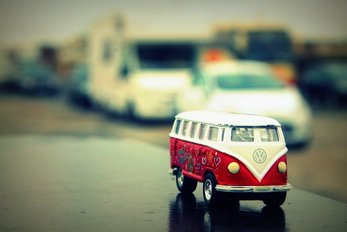 i want to be  a real camper van!