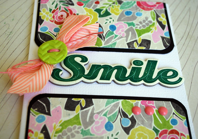 Smile Card Close Up