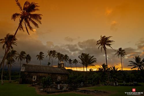 sunset church hawaii nikon maui hana fullframe fx d800 keanae nikond800 nikkor1635mmf4lens