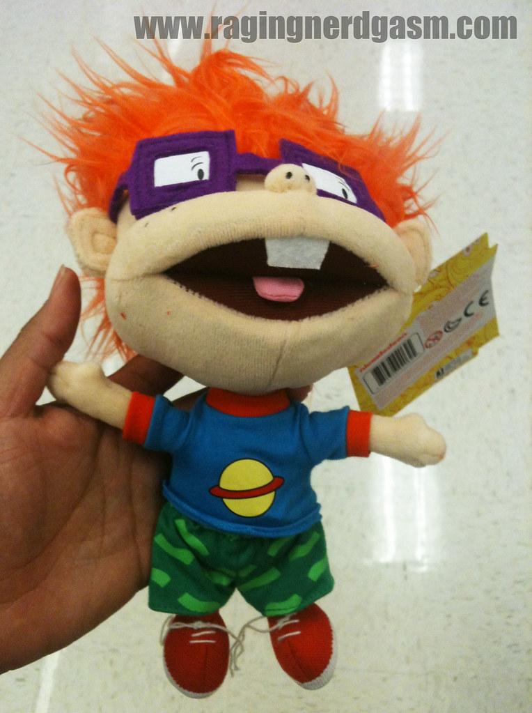 Nickelodeon Nick Toons Plush ChuckieBy Jazwares 0036
