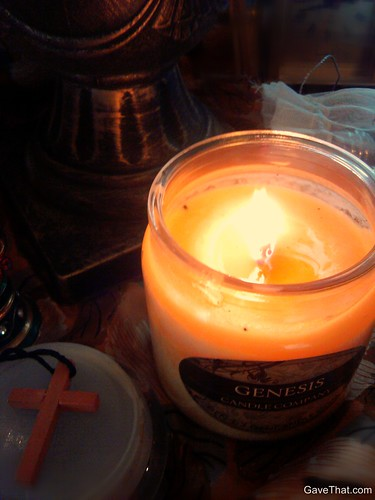 Genesis Candle Company Cinnamon and Sugar Candle