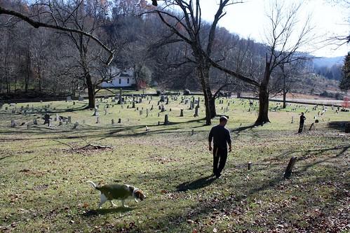 dave in graveyard