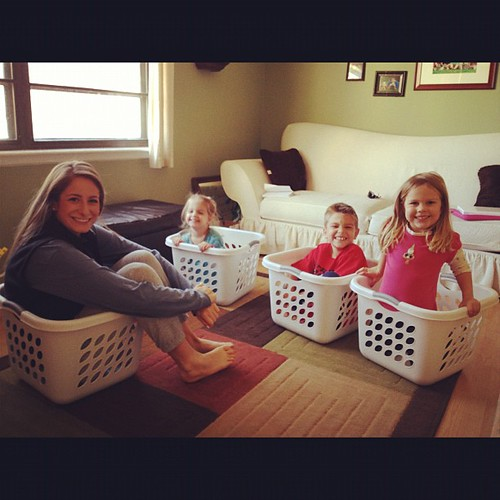 Four ones we love. All in laundry baskets. @harrietreymond