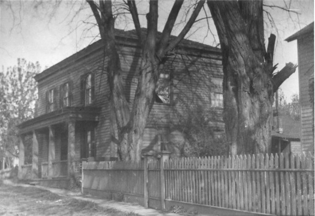 Francis Ermatinger House in 1910