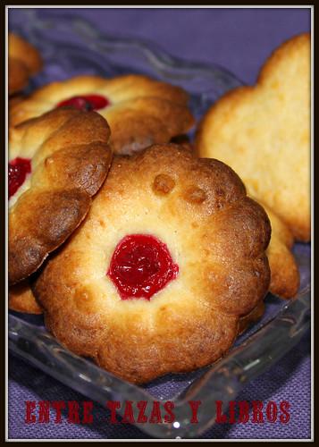 galletas arándanos