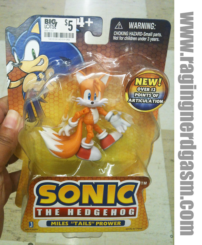 Sonic The Hedgehog Miles Tails Prower by Jazwares 001