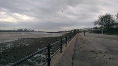 Liverpool from Vale Park Promenade Gates: Copyright 19th November, 2012 Kevin & Jane Moor
