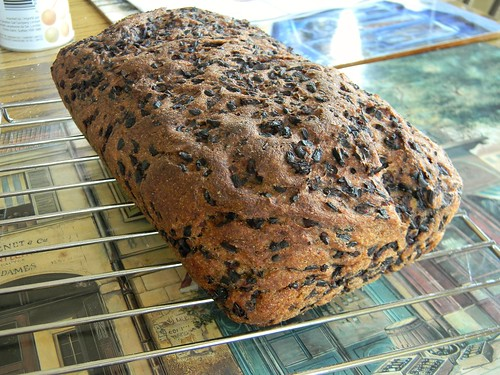 What Smells So Good?: Black Rice Bread