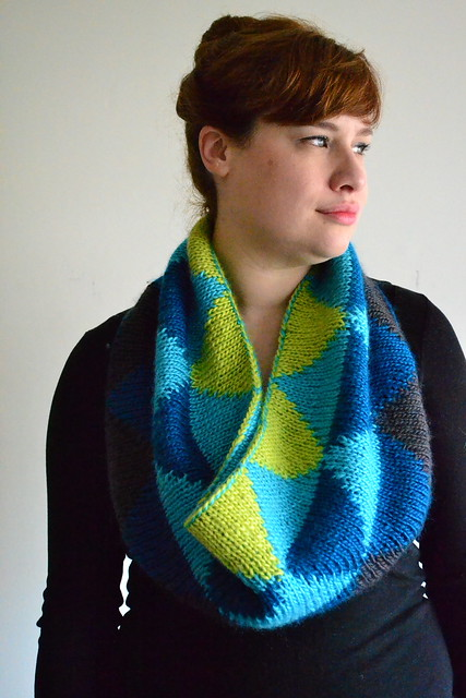 Honors Geometry Cowl - Slouchy