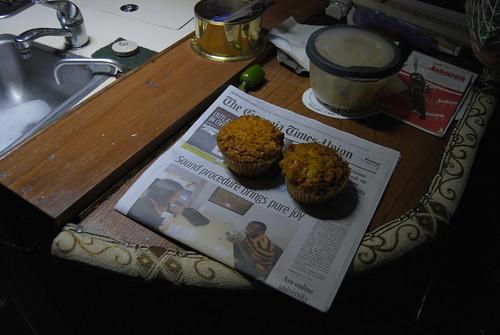 News Paper and Muffins at Morningstar Marina