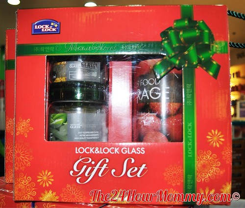 Lock & Lock Glass Gift Set