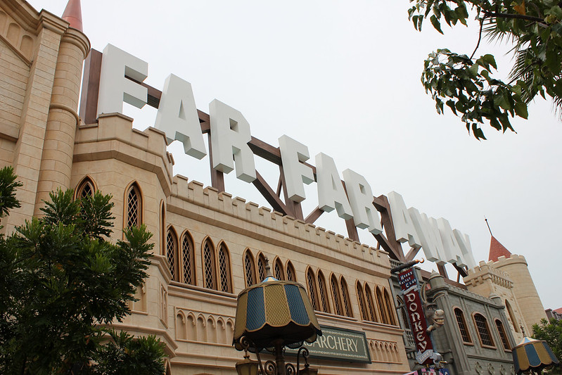Universal Studios Singapore - Far Far Away & Madagascar