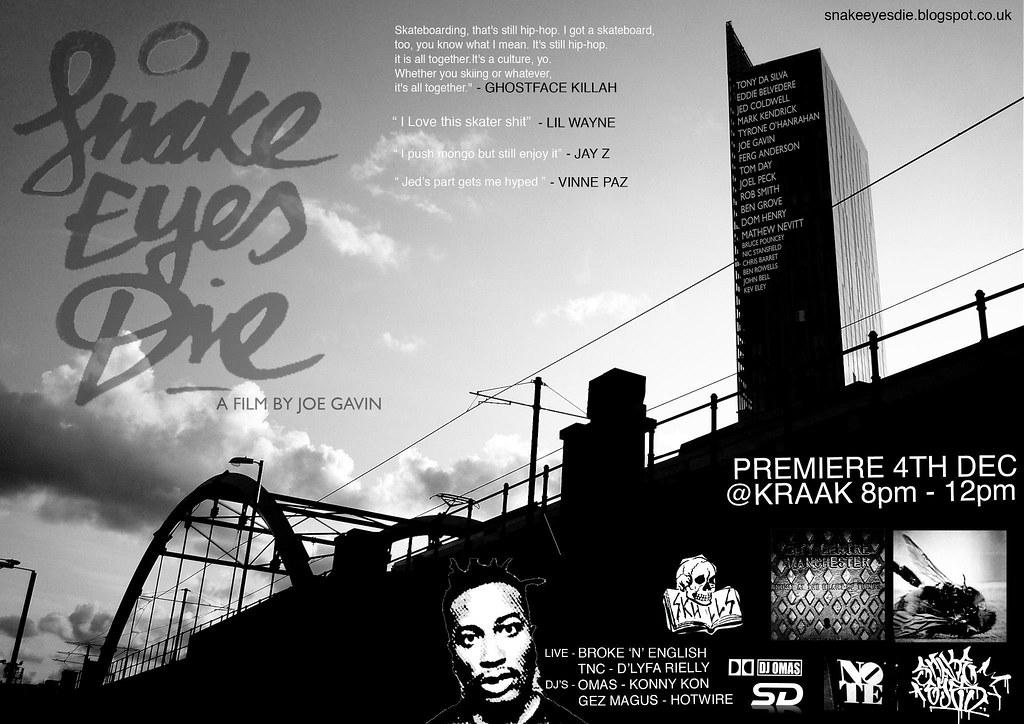 Snake Eyes Die Premiere.