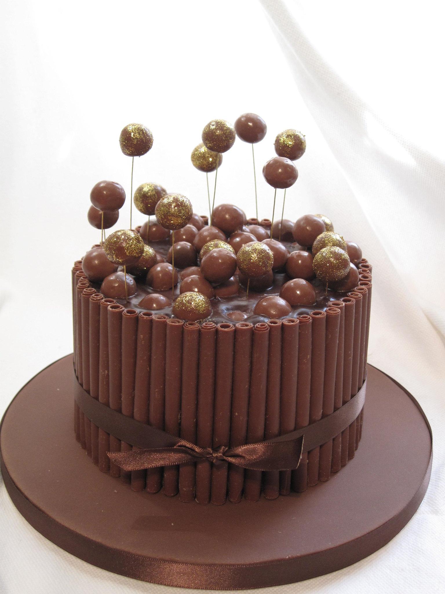 Chocolate malteser cake Flickr - Photo Sharing!