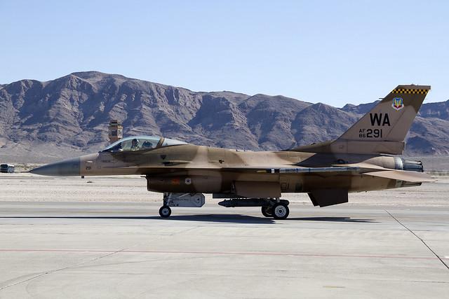 USAF F-16C Aggressor