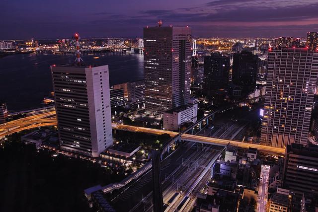 Rainbow Bridge from World Trade Center Building