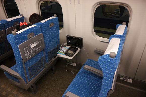 Wii U on a Train