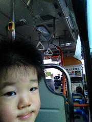 ハチ公バスにて (2012/11/25)