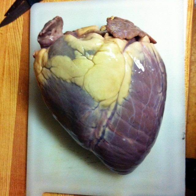 Have a Heart? How (and why) to Brine it... Offal November nose to tail moose Heart