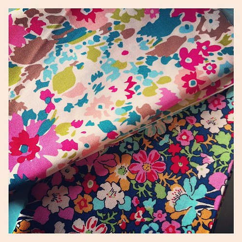 My very first liberty fabrics!