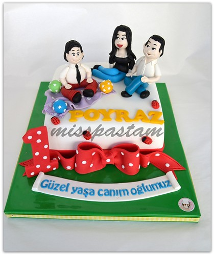 birthday cake - Poyraz by MİSSPASTAM