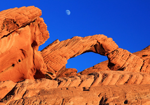 Arch Rock at the Valley of Fire