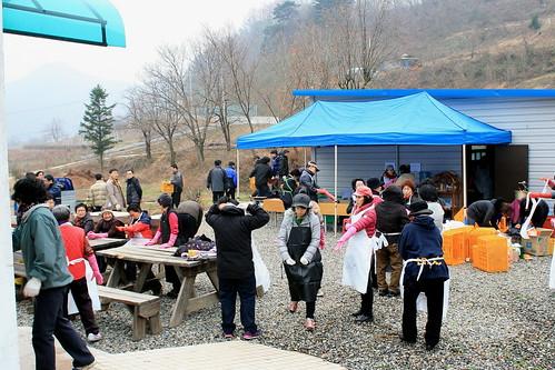 2012년 나눔의 김장 품앗이