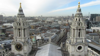 Top of St. Pauls Cathedral, London
