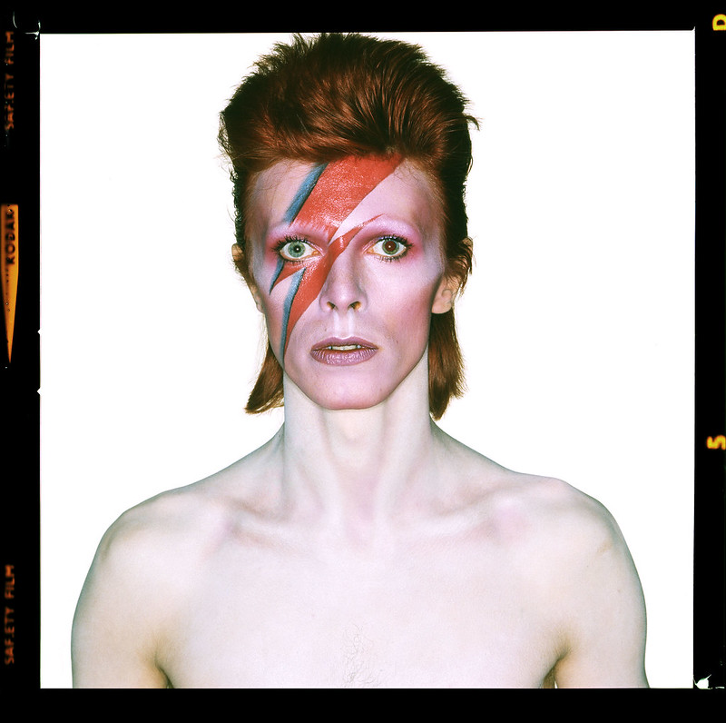 Brian Duffy, Aladdin Sane - open eyes, 1973