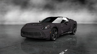 Chevrolet Corvette C7 Test Prototype Front