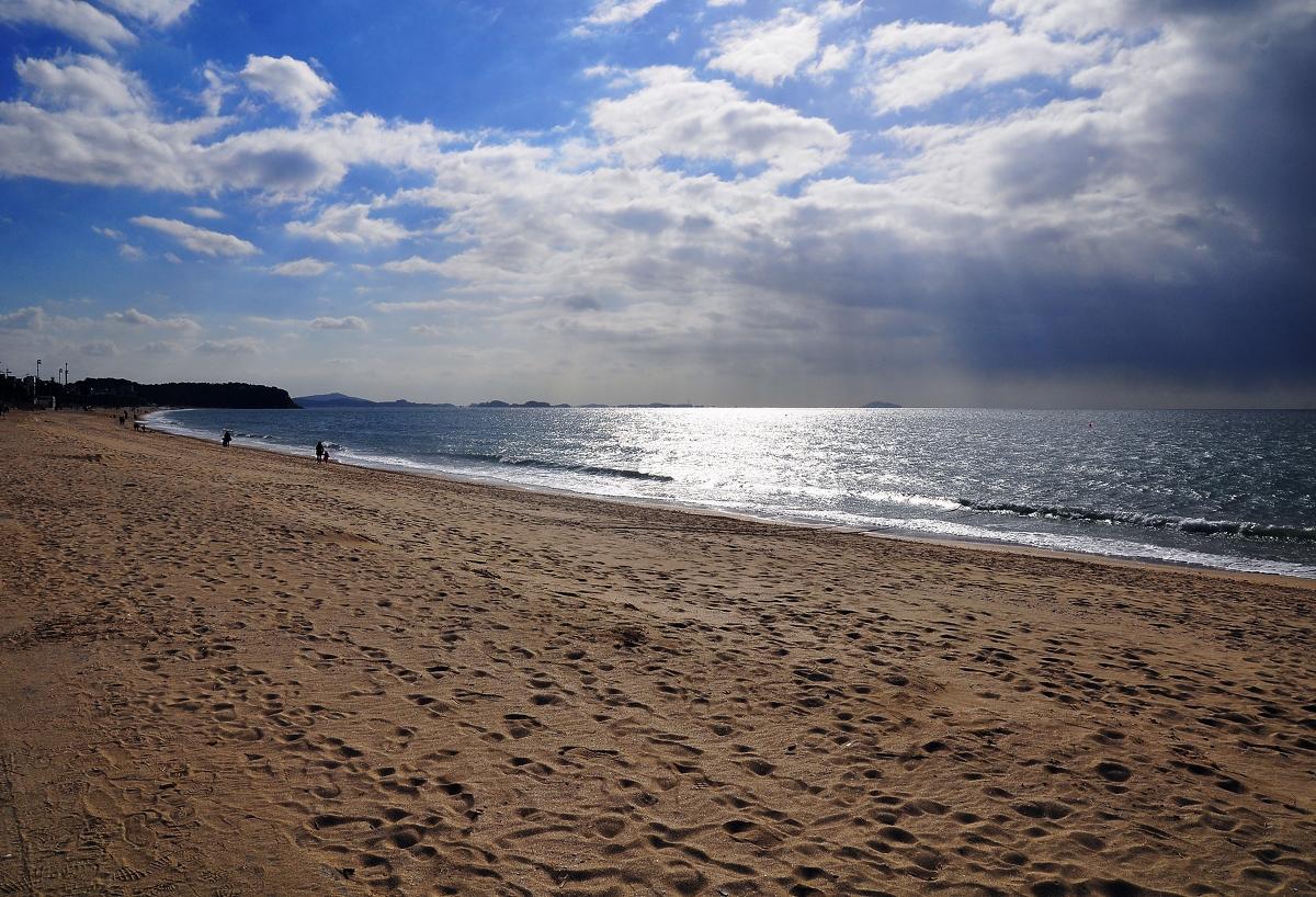 Daecheon Beach, Korea...on a cold November afternoon...2012