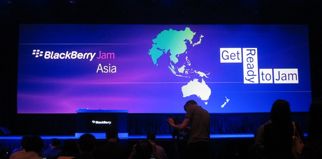 BlackBerry Jam Asia 2012